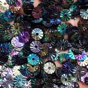 Sequins, Multi colour, Diameter 6mm, 940 pieces, 10g, Disc shape, Sequins are shiny, [CZP581]